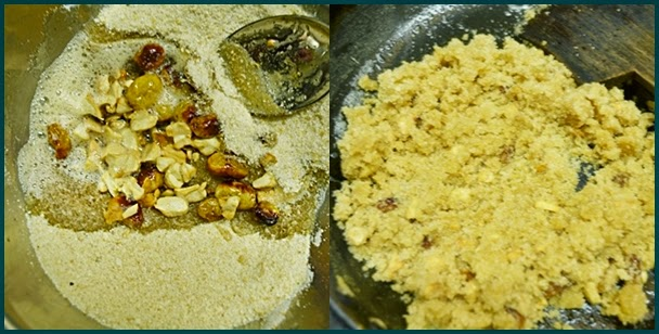 making aval laddu recipe