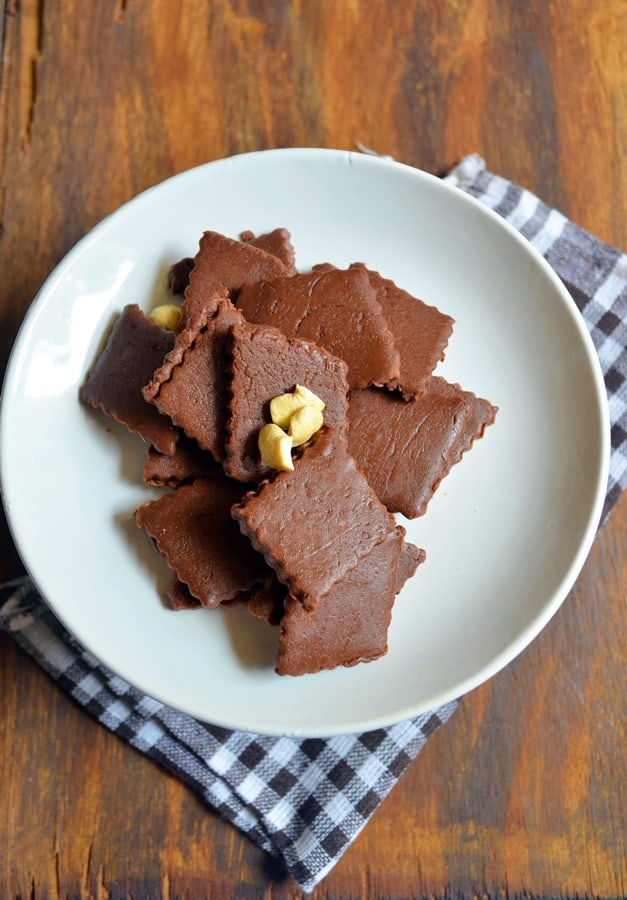 quick chocolate burfi recipe a