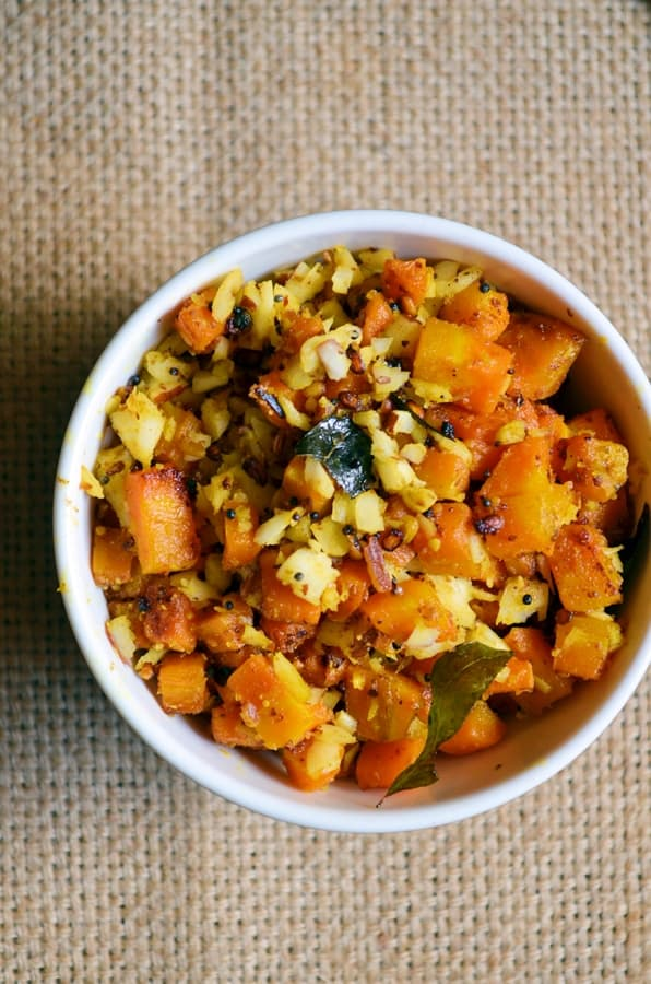 carrot curry recipe-carrot stir fry ready
