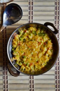 making green peas masala recipe