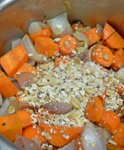 carrots almond oats soup step 3