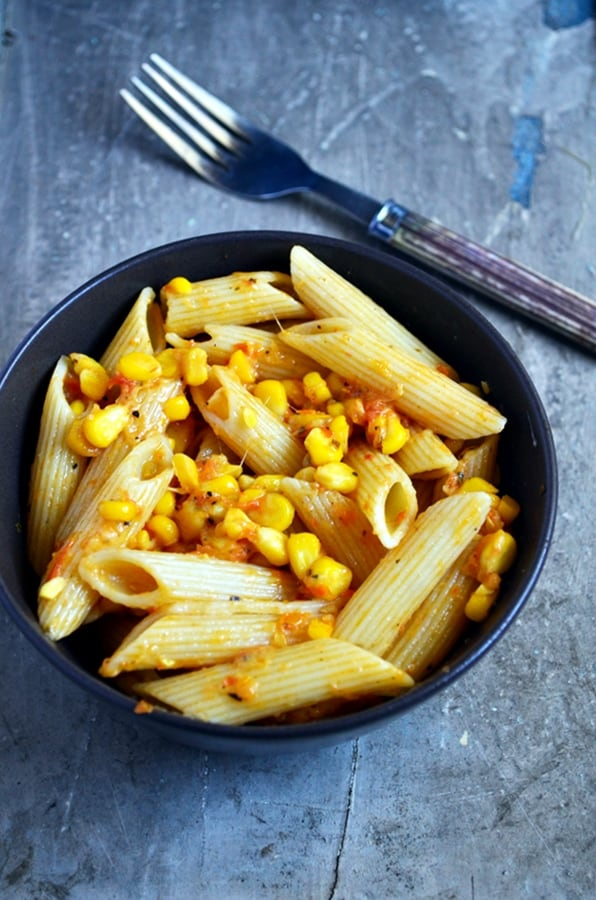 easy corn pasta recipe