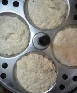 instant oats idli step3