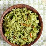 how to make coriander rice recipe