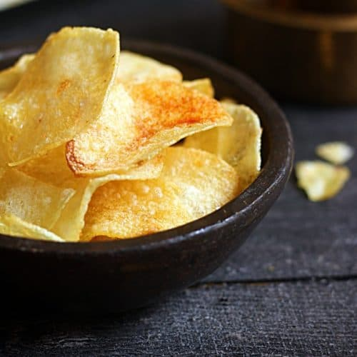 Potato chips recipe, homemade potato chips recipe