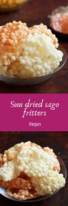 sago fritters