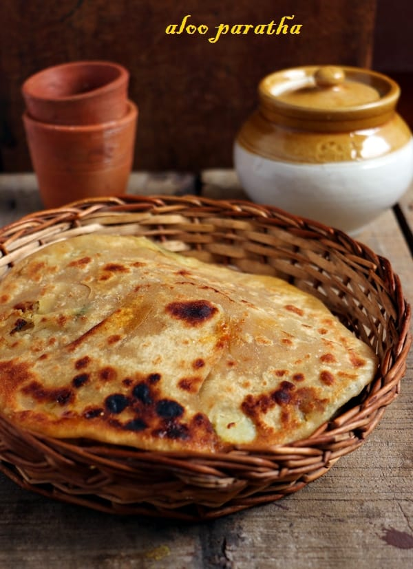 aloo paratha ready to serve