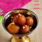 Sweet potato gulab jamun r
