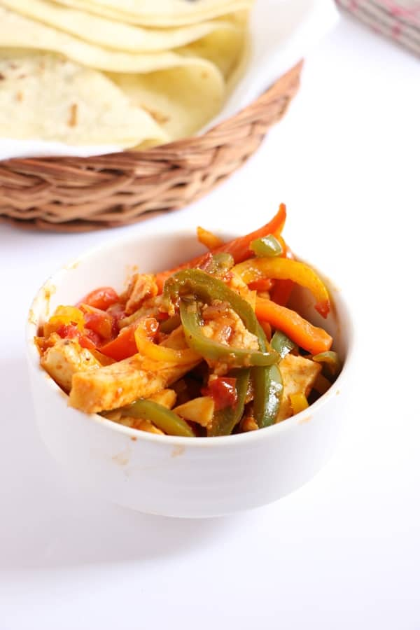 vegetarian fajita recipe e