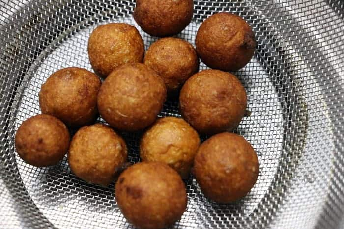 deep fried bread gulab jamun