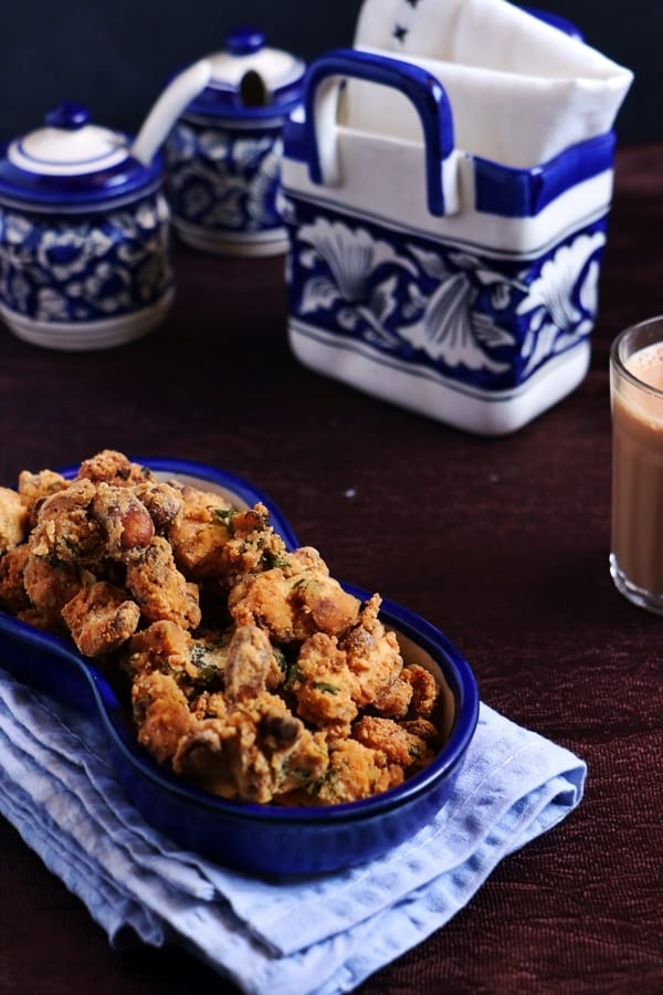 cashew pakoda recipe- Diwali snacks recipes
