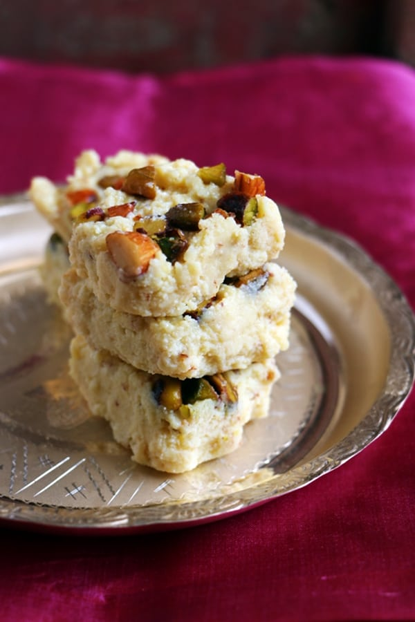easy kalakand for dessert