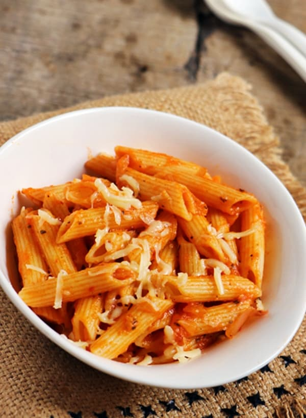 penne arrabiata recipe b