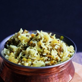 how to make moong sprouts pulao