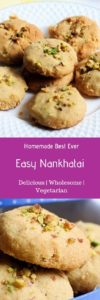 Indian traditional eggless cookies