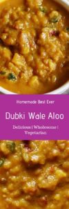 Dubki wale aloo curry