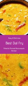 Dal fry recipe with video