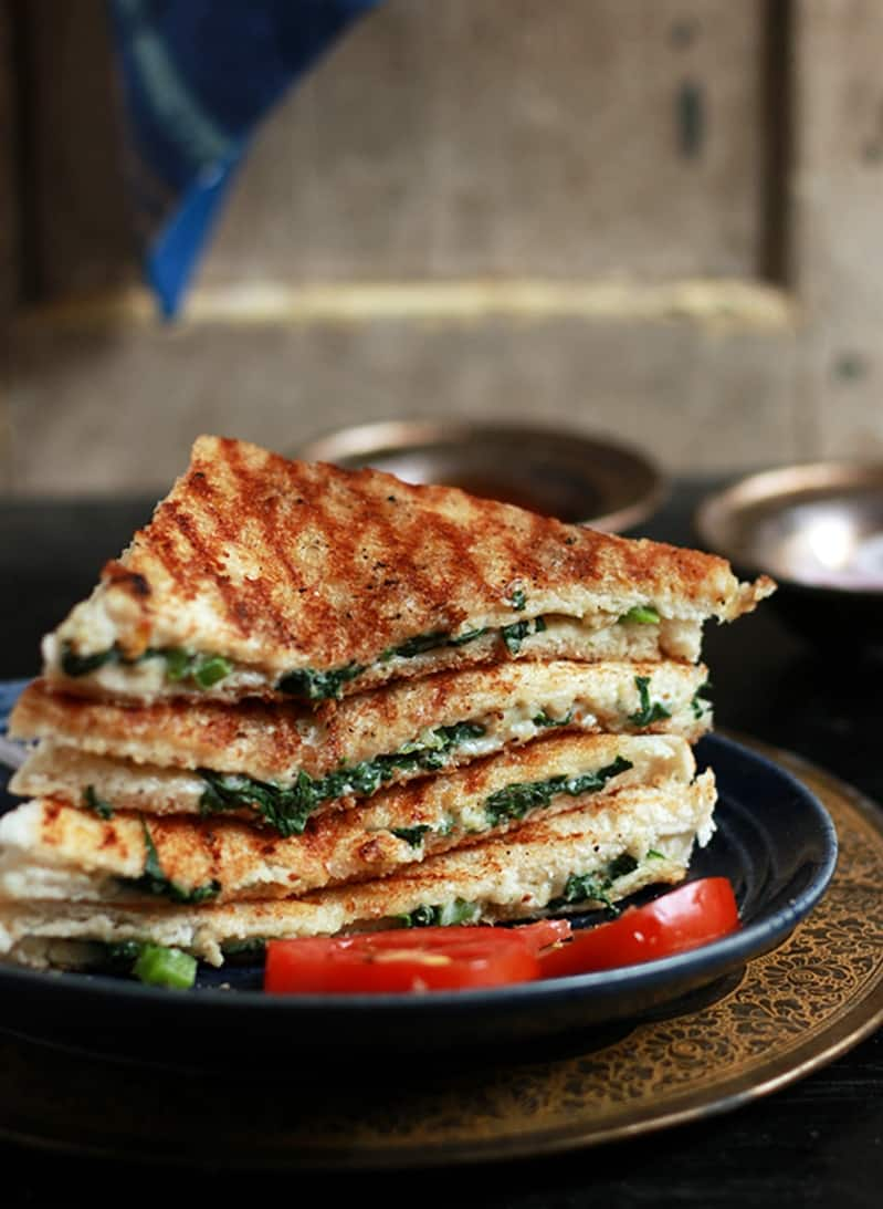 spinach sandwich recipe a