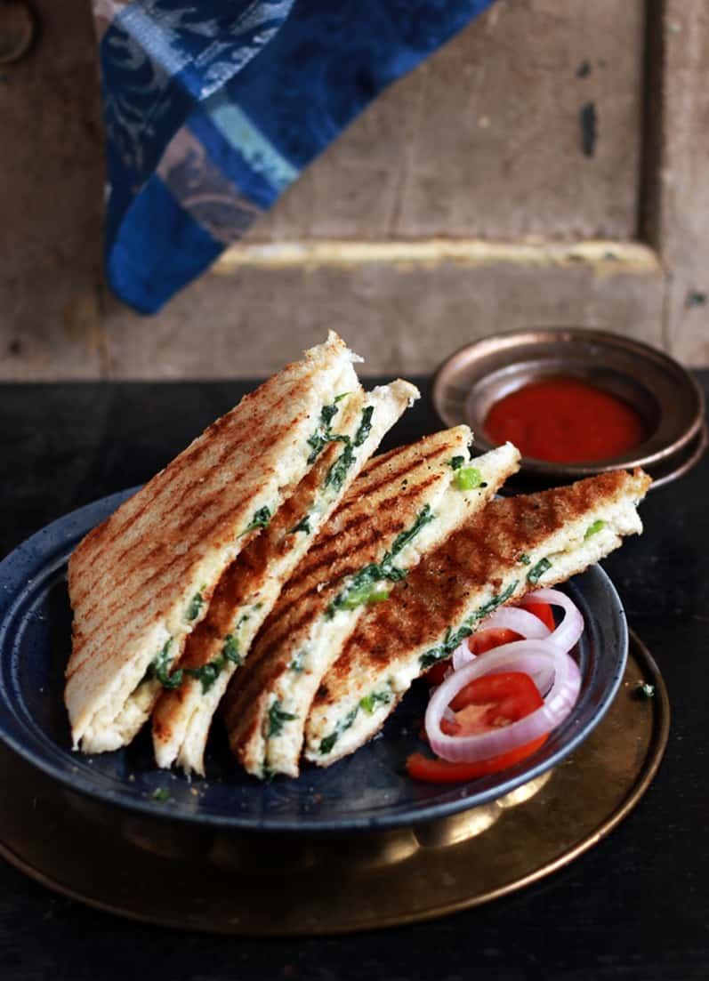 spinach sandwich recipe b