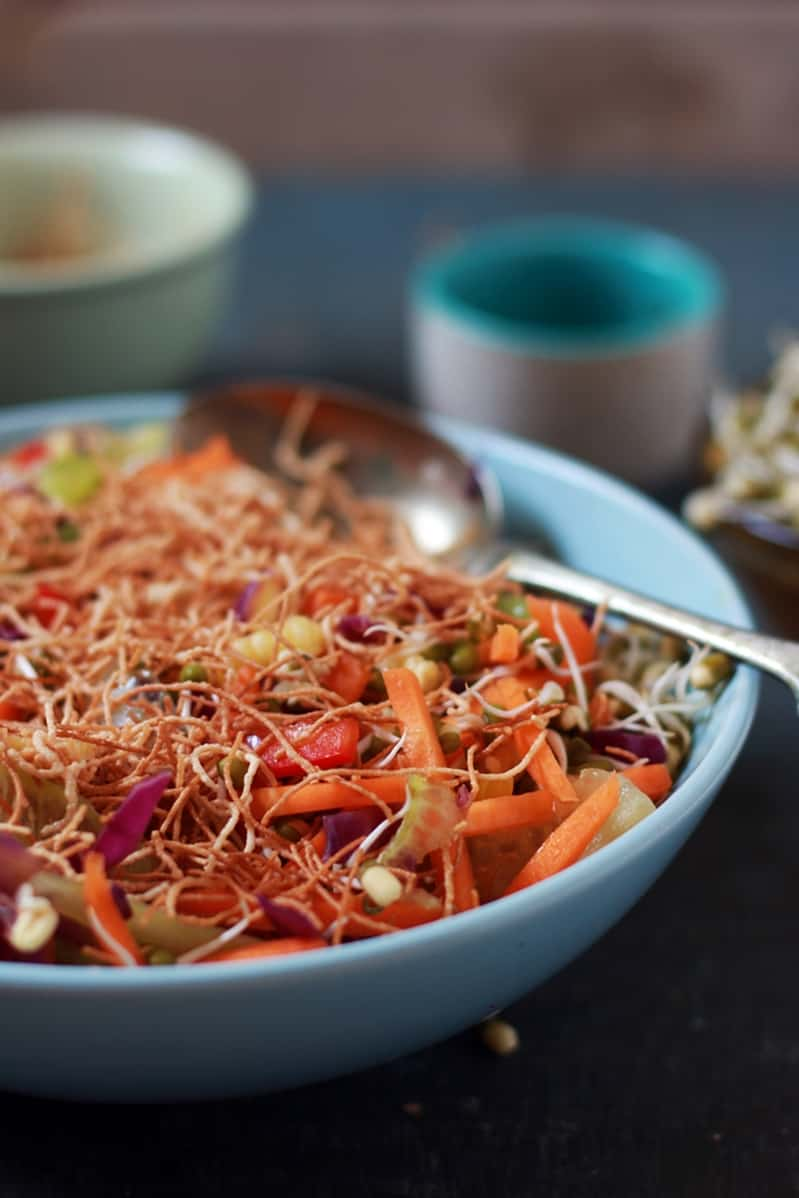 veg crisp salad recipe e