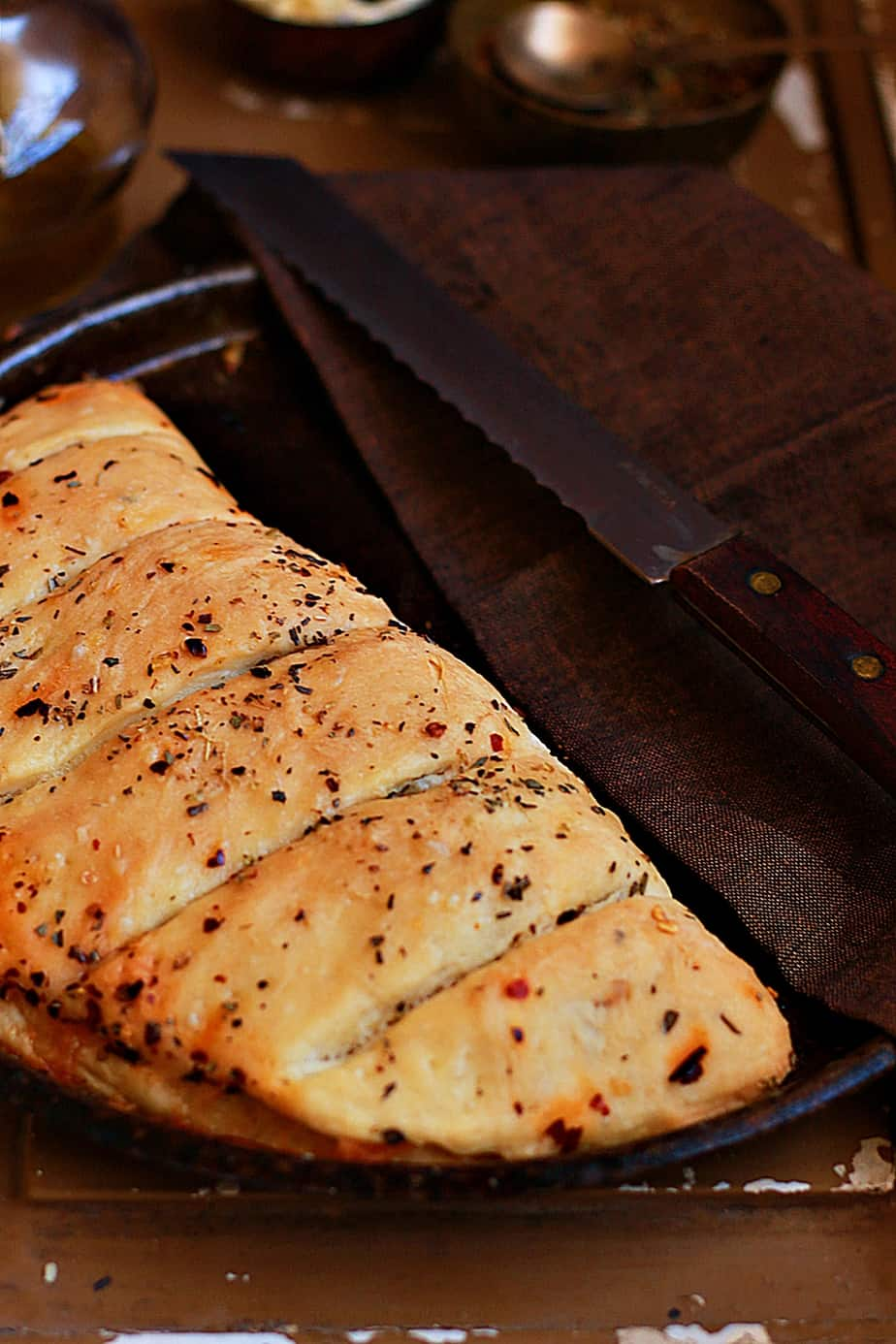 stuffed garlic bread recipe a
