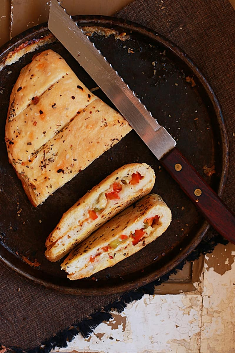 stuffed garlic bread recipe c