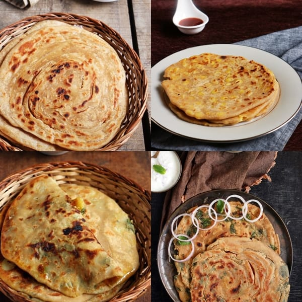 Indian paratha recipes
