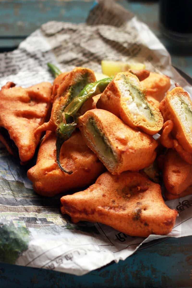 stuffed bread pakora recipe