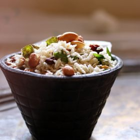 Poha chovda recipe no deep fry with detailed steps and images