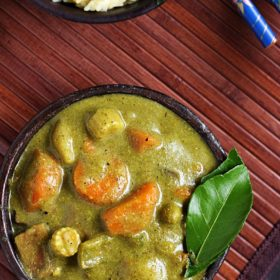 how to make veg thai green curry