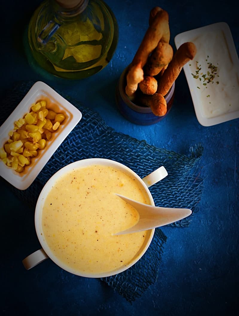 cream of sweet corn soup recipe
