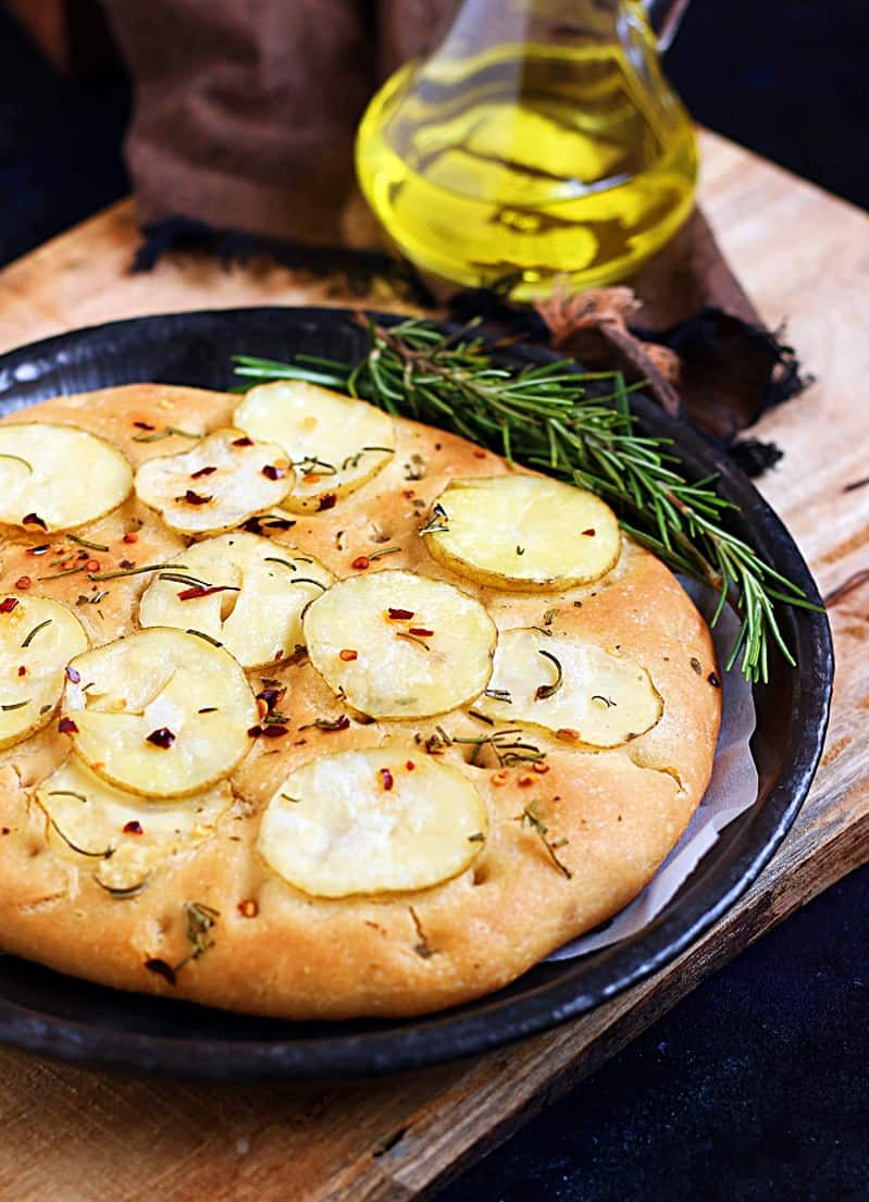 rosemary potato focaccia recipe