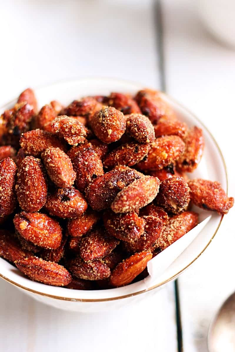 honey chili almonds recipe c