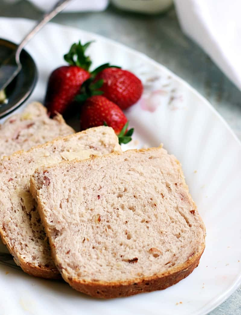 strawberry yeast bread recipe a