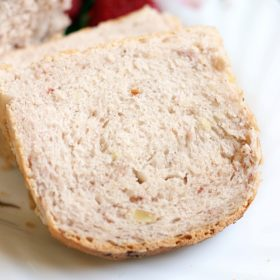 strawberry almond bread recipe