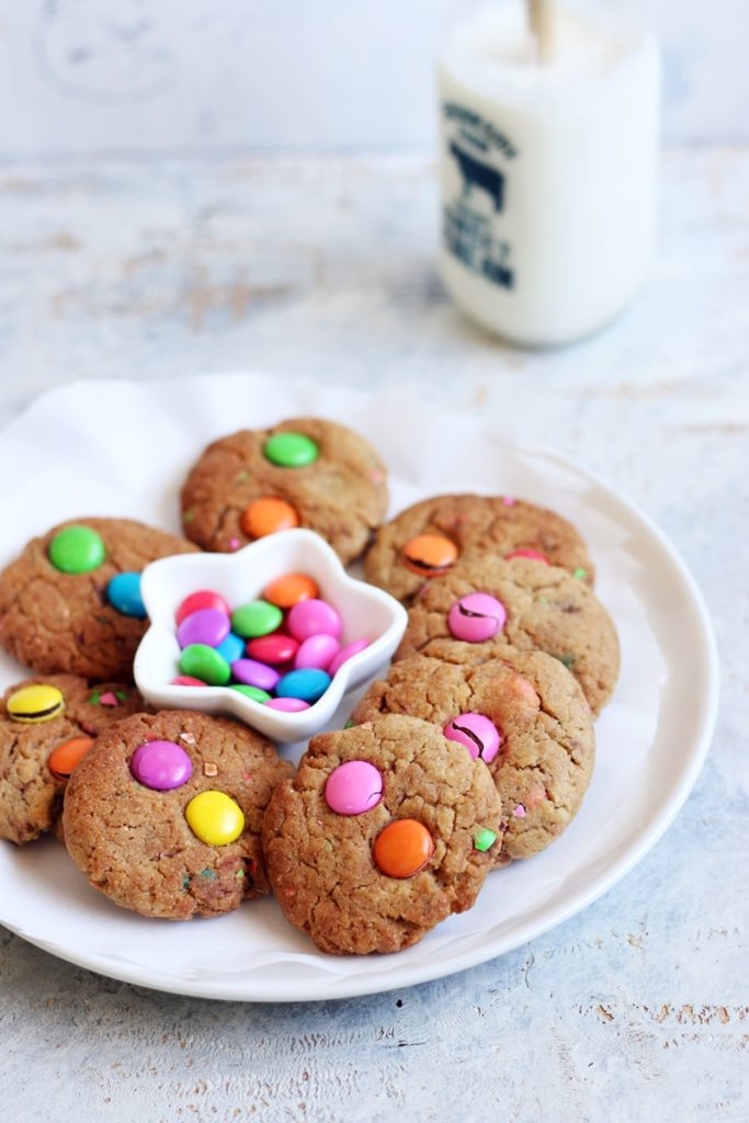 m&m cookies recipe c