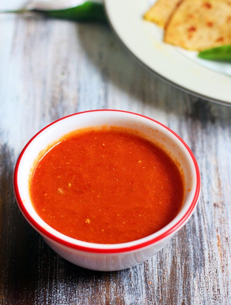 chili tomato dip recipe a