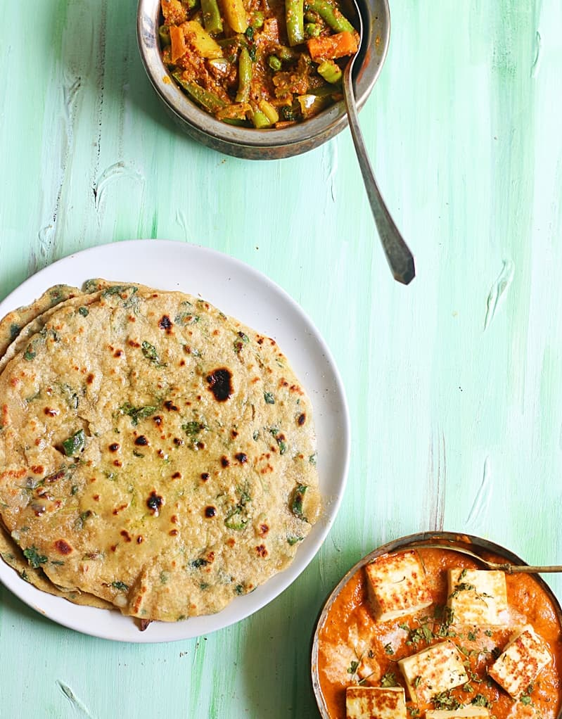 methi paratha recipr b