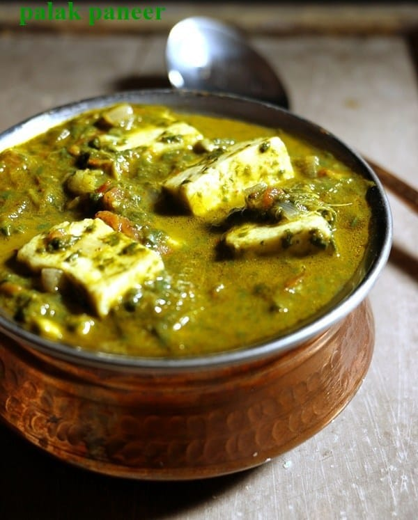 palak paneer recipe with video