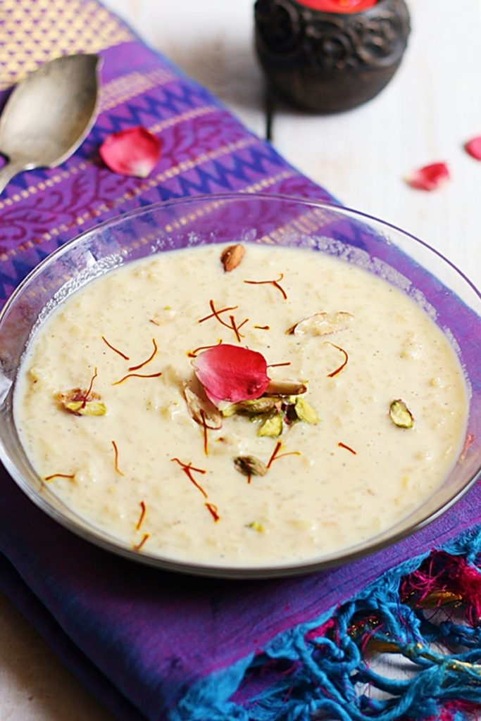 rice kheer recipe a