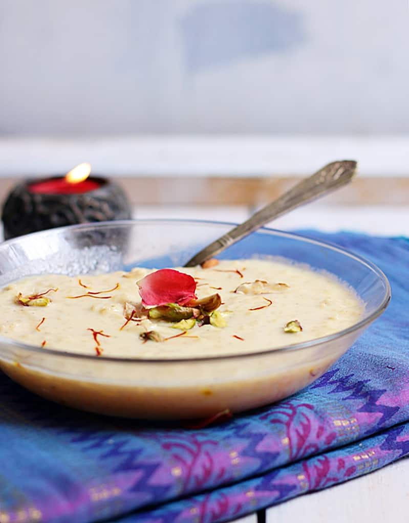 how to make rice kheer recipe