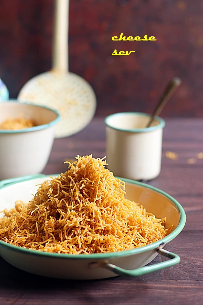 cheese sev recipe