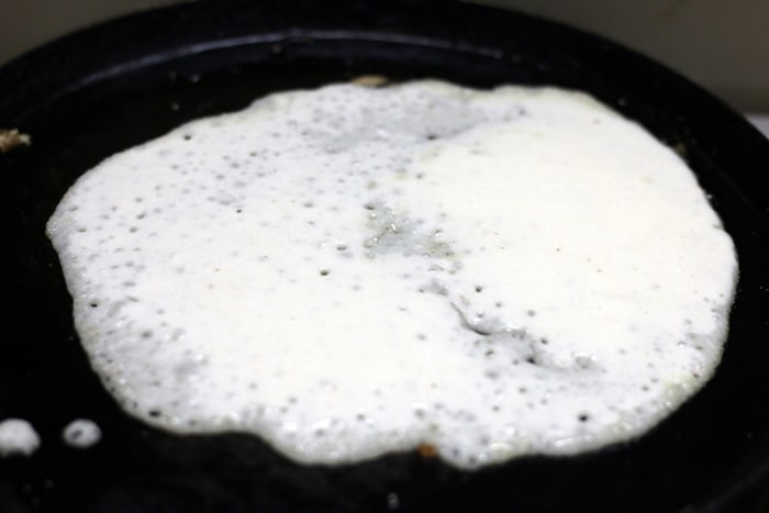 coconut dosa recipe step3