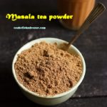 masala tea powder recipe.