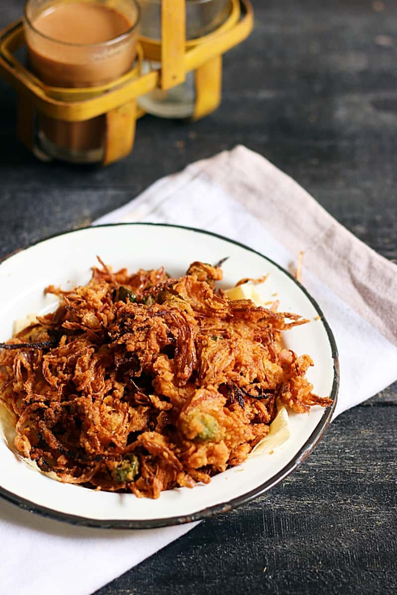 onion pakoda recipe d