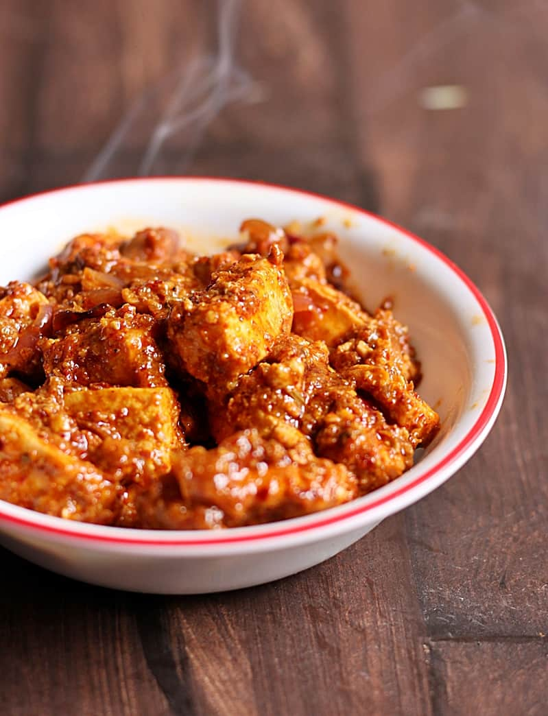paneer ghee roast recipe b