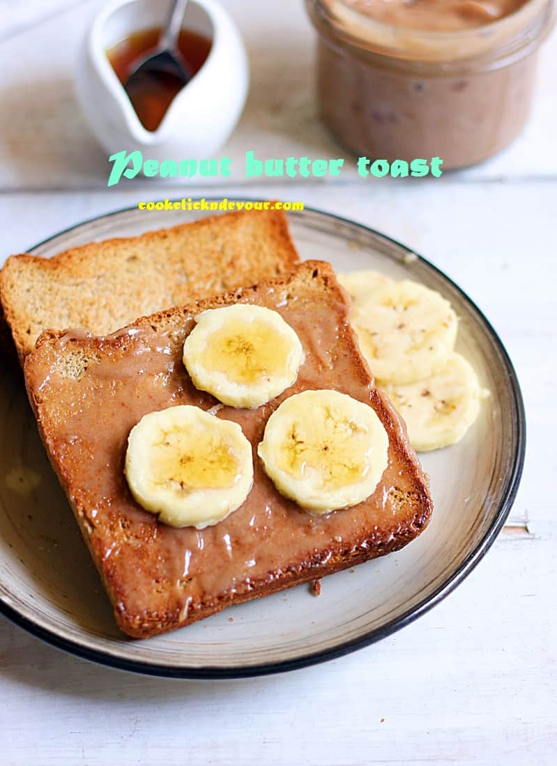 peanut butter toast recipe c - Copy
