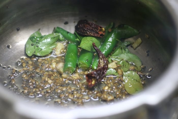 methi pappu recipe step1