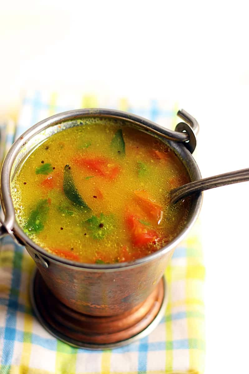 paruppu rasam recipe step 2