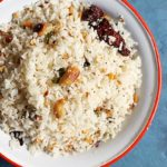 how to make coconut rice- south Indian thengai sadham recipe.